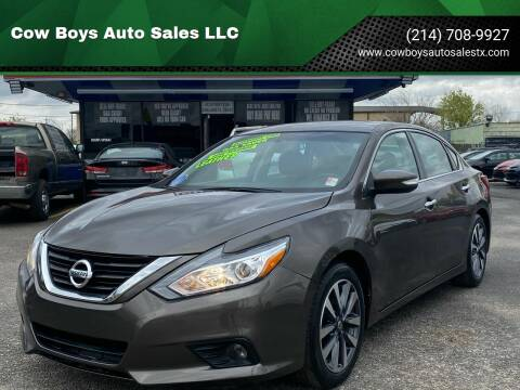 2017 Nissan Altima for sale at Cow Boys Auto Sales LLC in Garland TX
