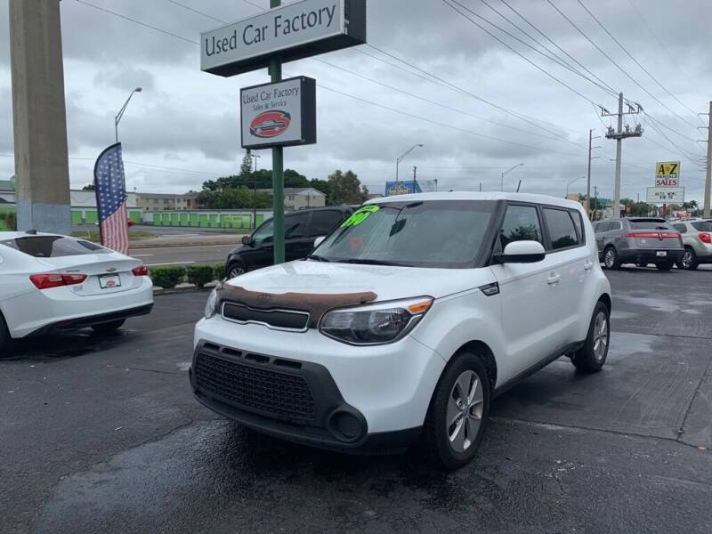 2016 Kia Soul for sale at Used Car Factory Sales & Service in Bradenton FL