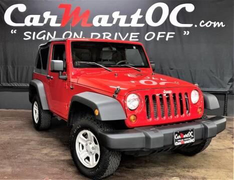 2009 Jeep Wrangler for sale at CarMart OC in Costa Mesa CA