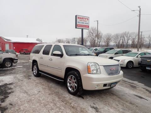 2012 GMC Yukon XL for sale at Marty's Auto Sales in Savage MN