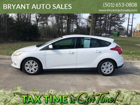 2012 Ford Focus for sale at BRYANT AUTO SALES in Bryant AR
