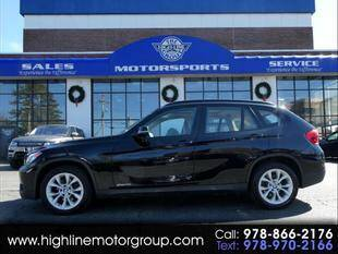 2014 BMW X1 for sale at Highline Group Motorsports in Lowell MA