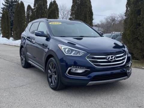 2017 Hyundai Santa Fe Sport for sale at Betten Baker Preowned Center in Twin Lake MI