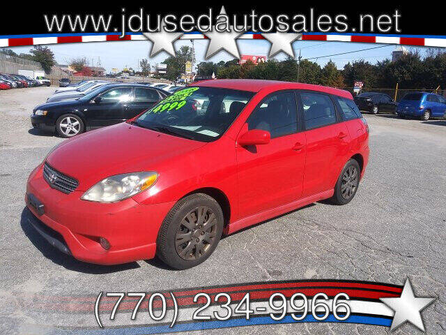 2008 Toyota Matrix for sale at J D USED AUTO SALES INC in Doraville GA