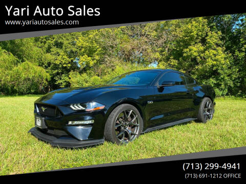 2018 Ford Mustang for sale at Yari Auto Sales in Houston TX