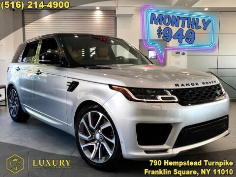 2019 Land Rover Range Rover Sport for sale at LUXURY MOTOR CLUB in Franklin Square NY