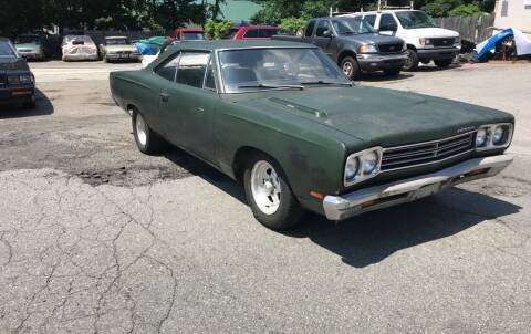 1969 Plymouth Roadrunner for sale at Clair Classics in Westford MA