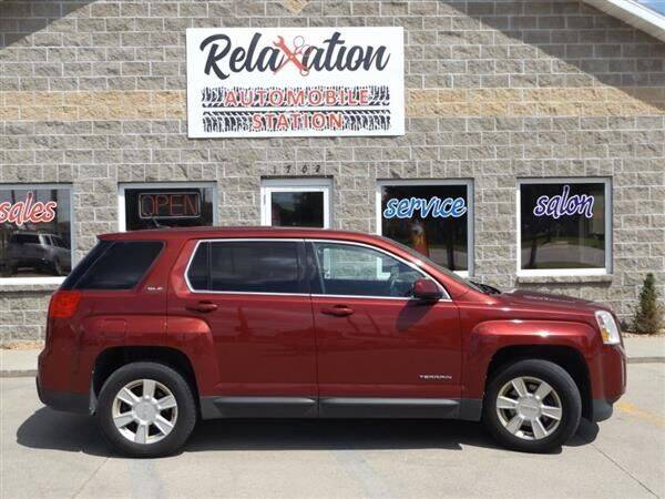 2011 GMC Terrain for sale at Relaxation Automobile Station in Moorhead MN