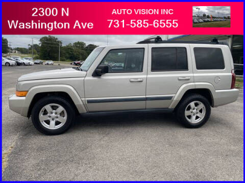2008 Jeep Commander for sale at Auto Vision Inc. in Brownsville TN
