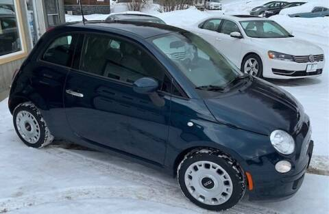 2014 FIAT 500 for sale at Past & Present MotorCar in Waterbury Center VT