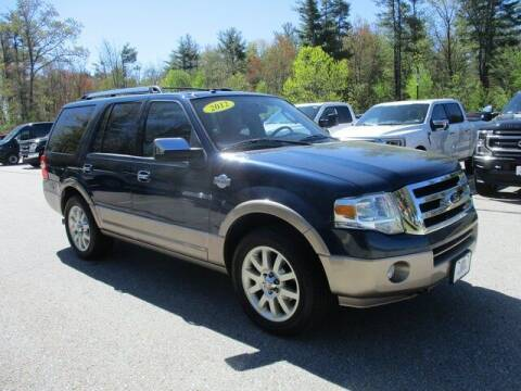 2013 Ford Expedition for sale at MC FARLAND FORD in Exeter NH