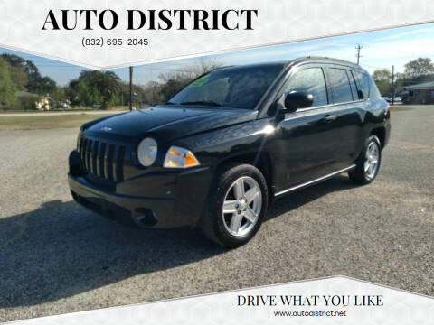 2007 Jeep Compass for sale at Auto District in Baytown TX