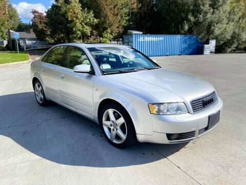 2004 Audi A4 for sale at RICKIES AUTO, LLC. in Portland OR
