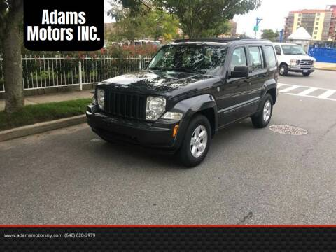 2011 Jeep Liberty for sale at Adams Motors INC. in Inwood NY