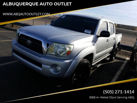 2005 Toyota Tacoma for sale at ALBUQUERQUE AUTO OUTLET in Albuquerque NM
