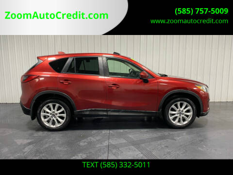 2013 Mazda CX-5 for sale at ZoomAutoCredit.com in Elba NY