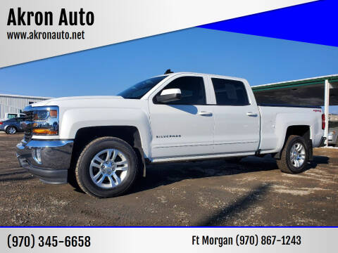 2017 Chevrolet Silverado 1500 for sale at Akron Auto in Akron CO
