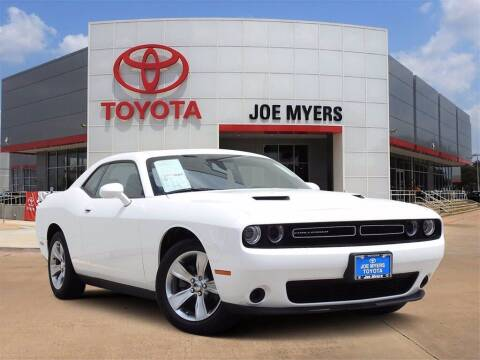 2018 Dodge Challenger for sale at Joe Myers Toyota PreOwned in Houston TX