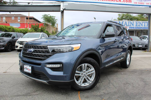 2021 Ford Explorer for sale at MIKEY AUTO INC in Hollis NY