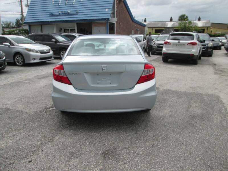 2012 Honda Civic LX 4dr Sedan 5A - Orlando FL