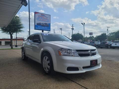 2014 Dodge Avenger for sale at Magic Auto Sales - Cash Cars in Dallas TX