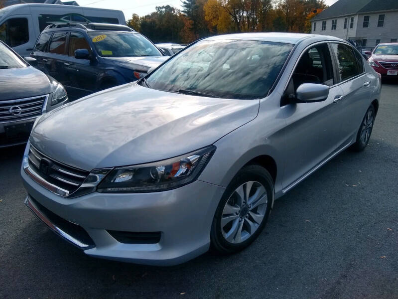 2014 Honda Accord for sale at Washington Street Auto Sales in Canton MA