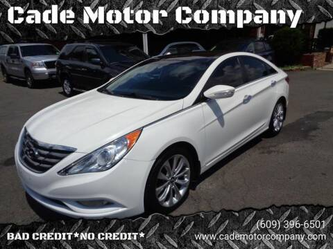 2012 Hyundai Sonata for sale at Cade Motor Company in Lawrenceville NJ