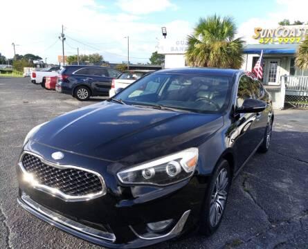 2014 Kia Cadenza for sale at Sun Coast City Auto Sales in Mobile AL