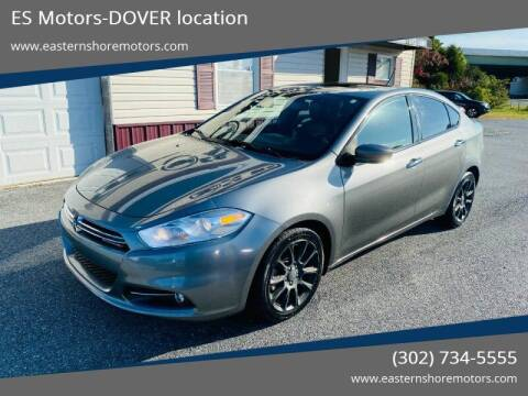 2013 Dodge Dart for sale at ES Motors-DAGSBORO location - Dover in Dover DE