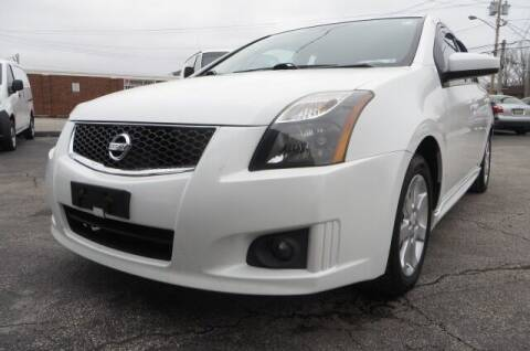 2012 Nissan Sentra for sale at Eddie Auto Brokers in Willowick OH