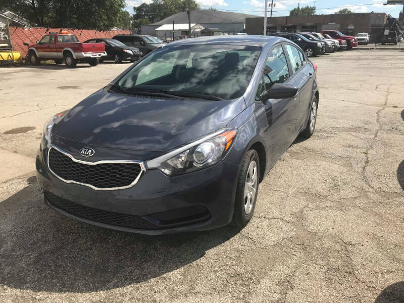 2016 Kia Forte for sale at Town & City Motors Inc. in Gary IN
