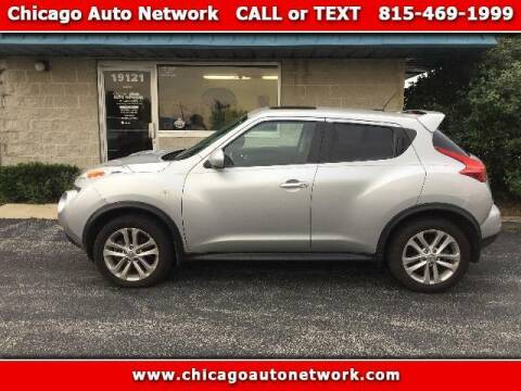 2013 Nissan JUKE for sale at Chicago Auto Network in Mokena IL