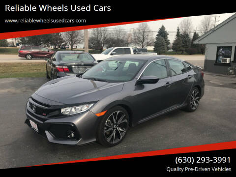 2018 Honda Civic for sale at Reliable Wheels Used Cars in West Chicago IL