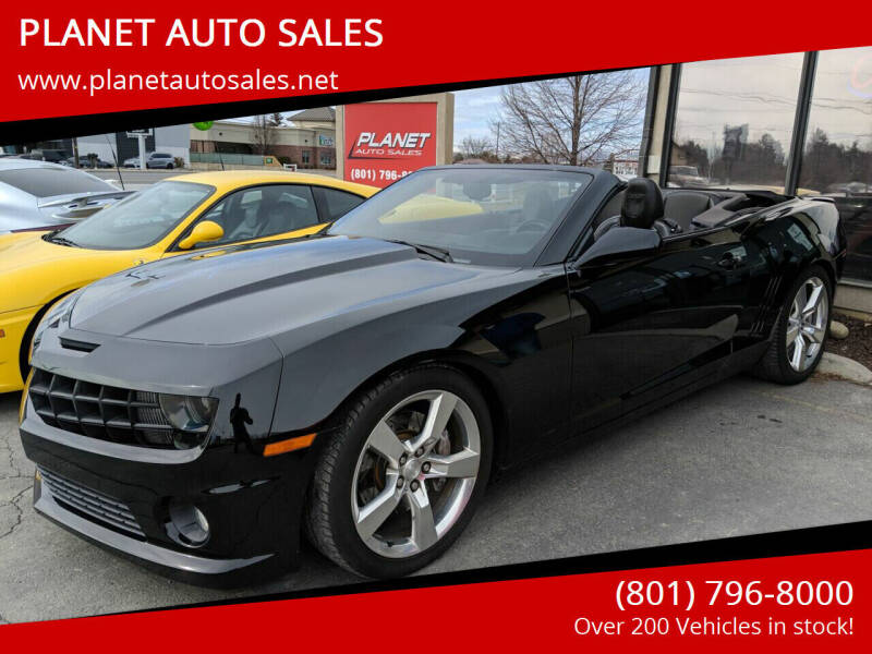 2011 Chevrolet Camaro for sale at PLANET AUTO SALES in Lindon UT