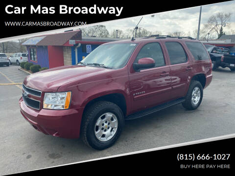2007 Chevrolet Tahoe for sale at Car Mas Broadway in Crest Hill IL