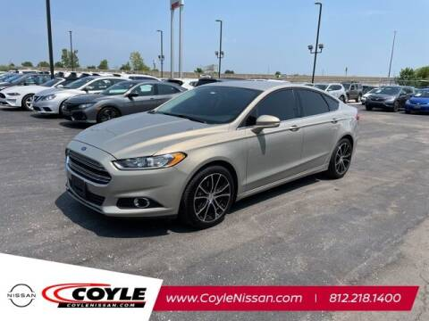 2015 Ford Fusion for sale at COYLE GM - COYLE NISSAN - New Inventory in Clarksville IN