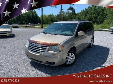 2009 Chrysler Town and Country for sale at M & D Auto Sales Inc in Foley AL