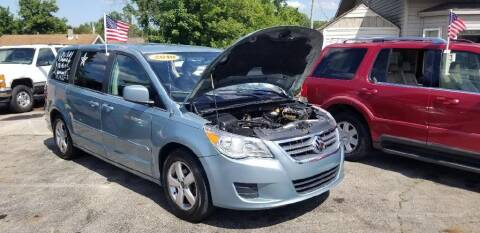 2009 Volkswagen Routan for sale at EZ Drive AutoMart in Springfield OH