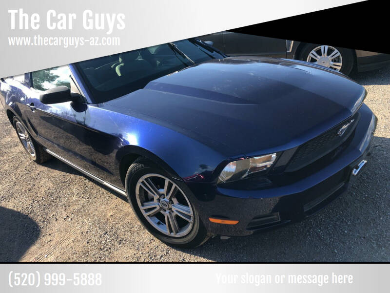 2012 Ford Mustang for sale at The Car Guys in Tucson AZ