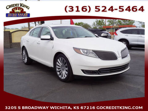 2013 Lincoln MKS for sale at Credit King Auto Sales in Wichita KS