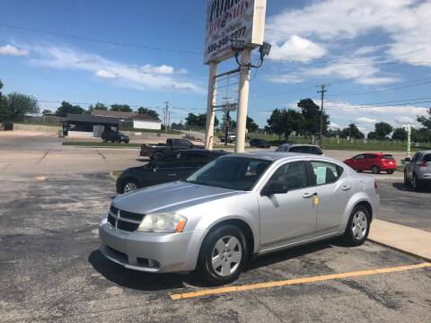 2010 Dodge Avenger for sale at Patriot Auto Sales in Lawton OK