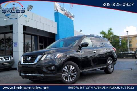 2019 Nissan Pathfinder for sale at Tech Auto Sales in Hialeah FL