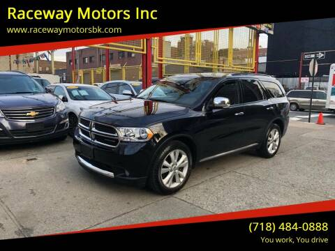 2011 Dodge Durango for sale at Raceway Motors Inc in Brooklyn NY