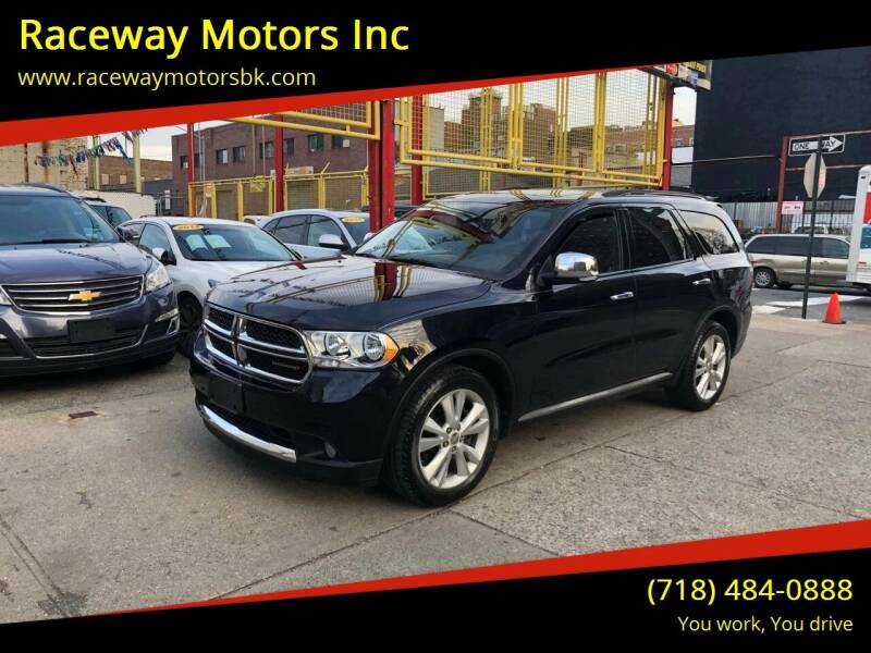 2011 Dodge Durango for sale at Raceway Motors Inc in Brooklyn NY