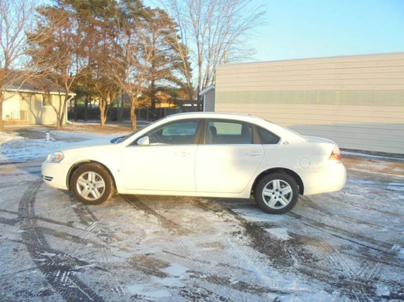 2008 Chevrolet Impala for sale at Engels Autos Inc in Ramsey MN