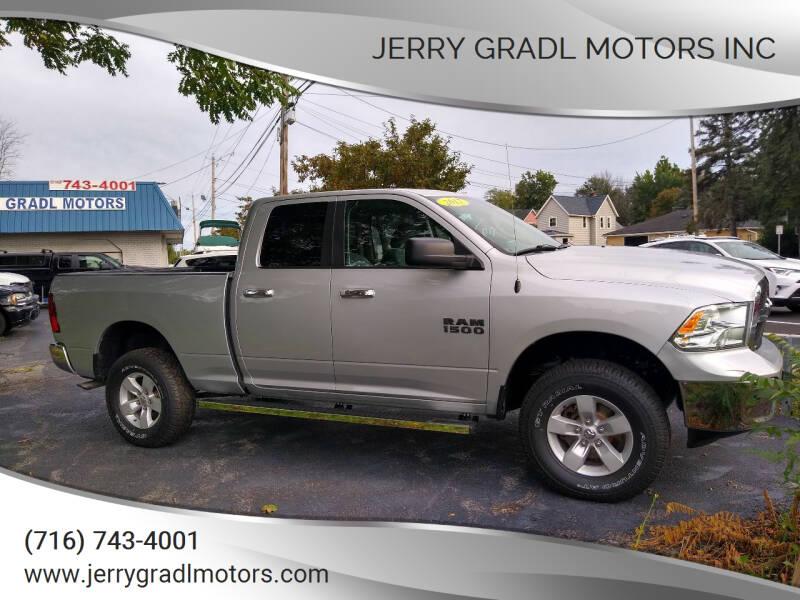2017 RAM Ram Pickup 1500 for sale at JERRY GRADL MOTORS INC in North Tonawanda NY