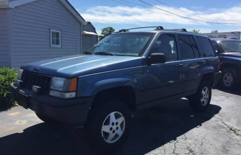 1995 Jeep Grand Cherokee for sale at Barnsley Auto Sales in Oxford PA