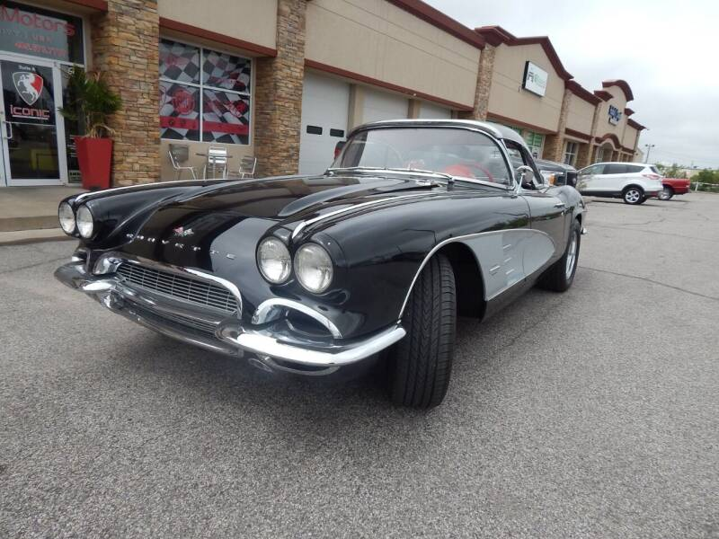1961 Chevrolet Corvette for sale at Iconic Motors of Oklahoma City, LLC in Oklahoma City OK