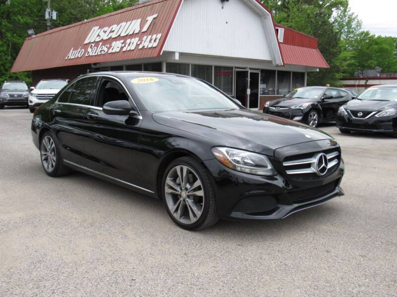 2016 Mercedes-Benz C-Class for sale at Discount Auto Sales in Pell City AL
