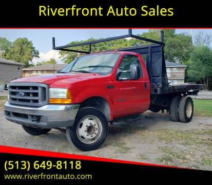 1999 Ford F-450 Super Duty for sale at Riverfront Auto Sales in Middletown OH